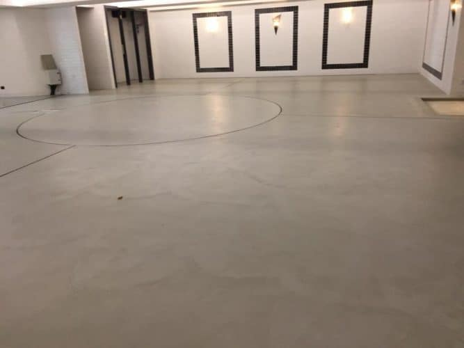 Decorativo Microcement Floor Application
