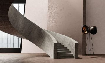 Decorativo Microcement Coating on Stairs